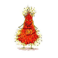 Battle Buddy: The Pyromancer