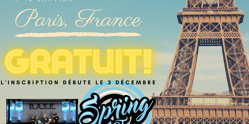 3rd Annual Virtual Spring Coaches Conference - Paris, France