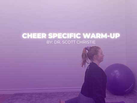 Cheer Specific Warm-Up