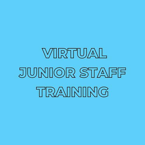Virtual Junior Staff Training