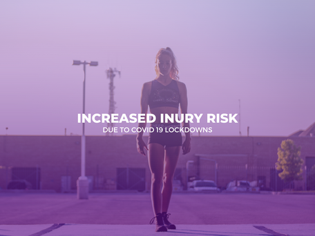How to manage Increased Injury Risk due to Lockdowns