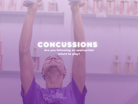 CONCUSSIONS - Are You Following an Appropriate Return To Play?