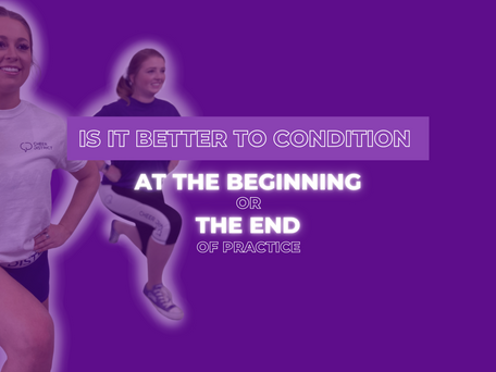 Is it Better to Condition at the Beginning or End of Practice?