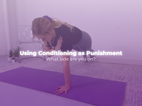 Using Conditioning as Punishment