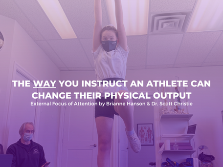 The Way You Instruct an Athlete Can Change Their Physical Output...