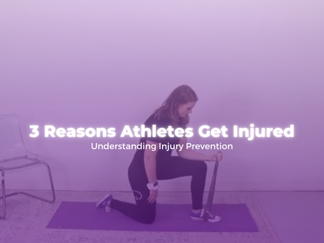3 Reasons Athletes Get Injured