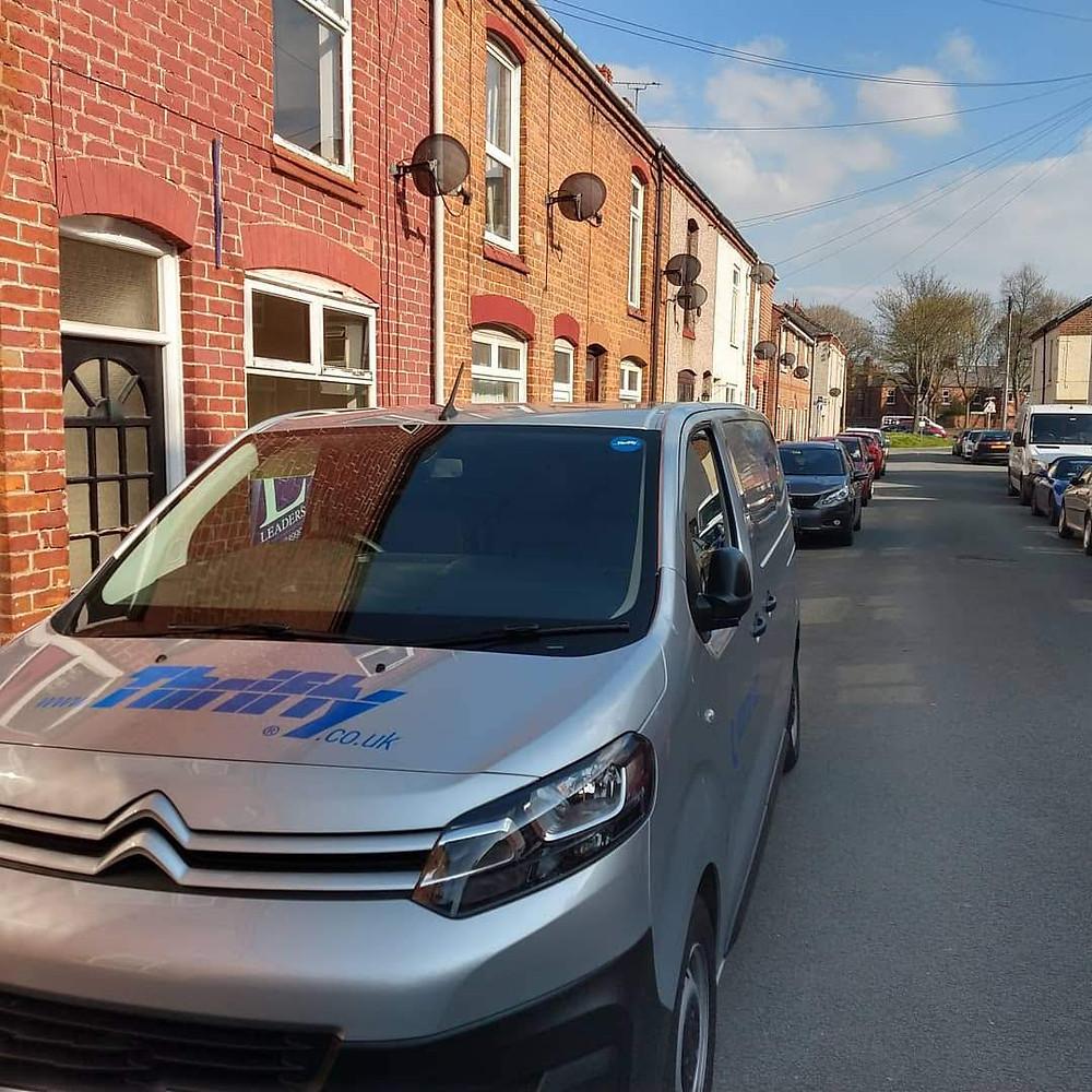 Van ready for a trip down to Devon!