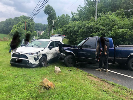 Motor Vehicle Collision on Old Court Rd