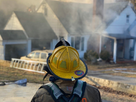 Liberty Road Responds to Windsor Mill House Fire