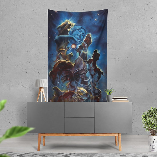 """Creation's Embrace"" Tapestry by Jack Henry Art"