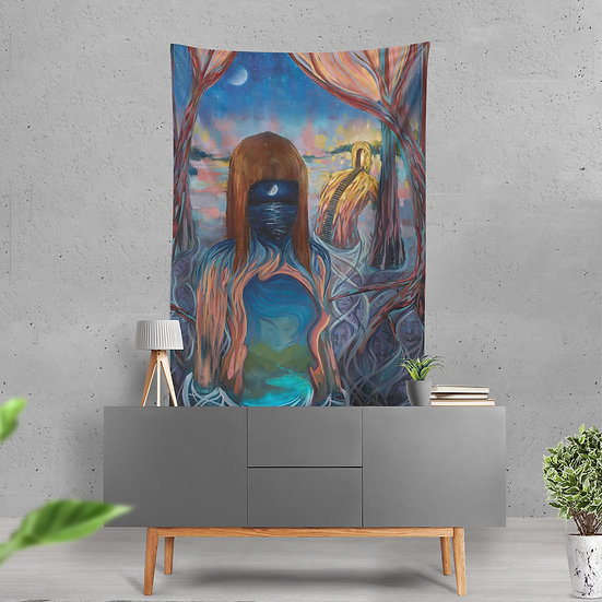 """Humble Waters"" Tapestry by Dillon Endico"