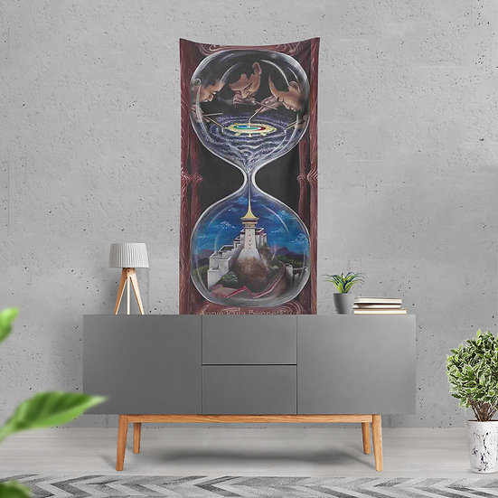 """""""Make Time"""" Tapestry by Annie Kyla Bee"""