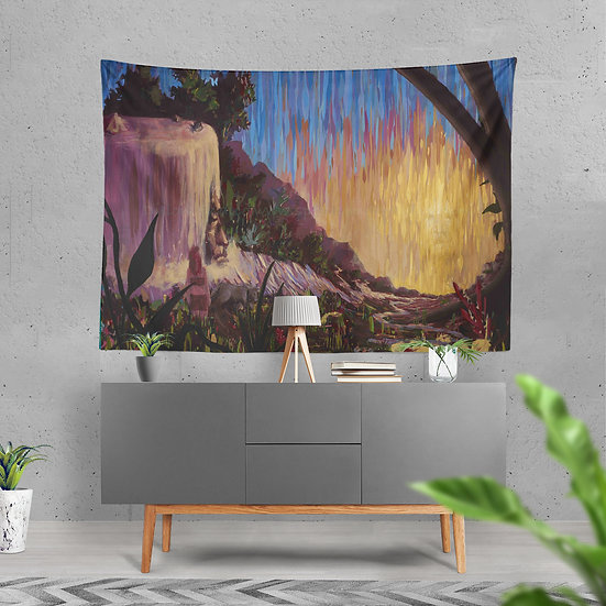 """River Child"" Tapestry by Dillon Endico"