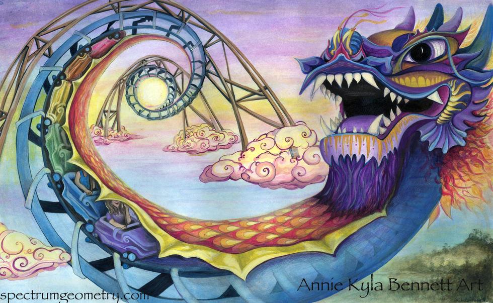 'Adventures of Sunset' by Annie Kyla Bennett