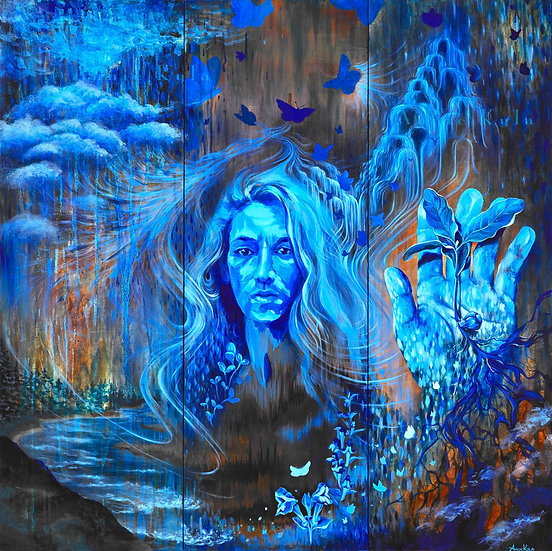 """""""Follow the Water"""" by Annie Kyla Bee... Prints"""
