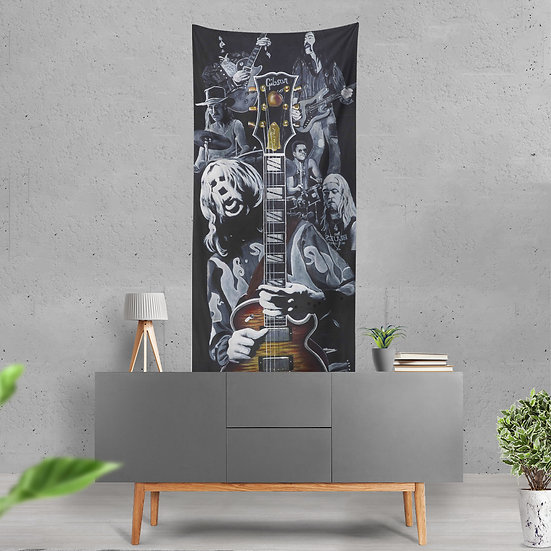 """Eat a Peach"" Tapestry by Jack Henry Art"
