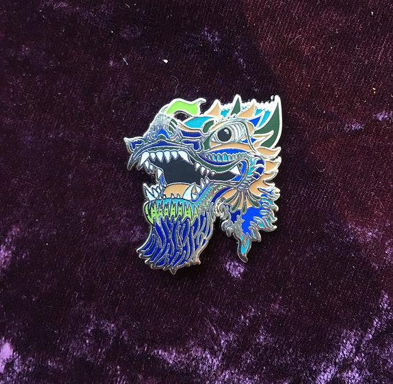 Sea Dragon enamel pin