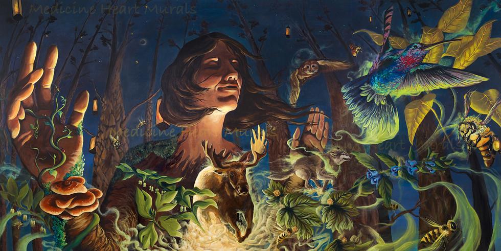 'Nature's Release' by Medicine Heart Murals