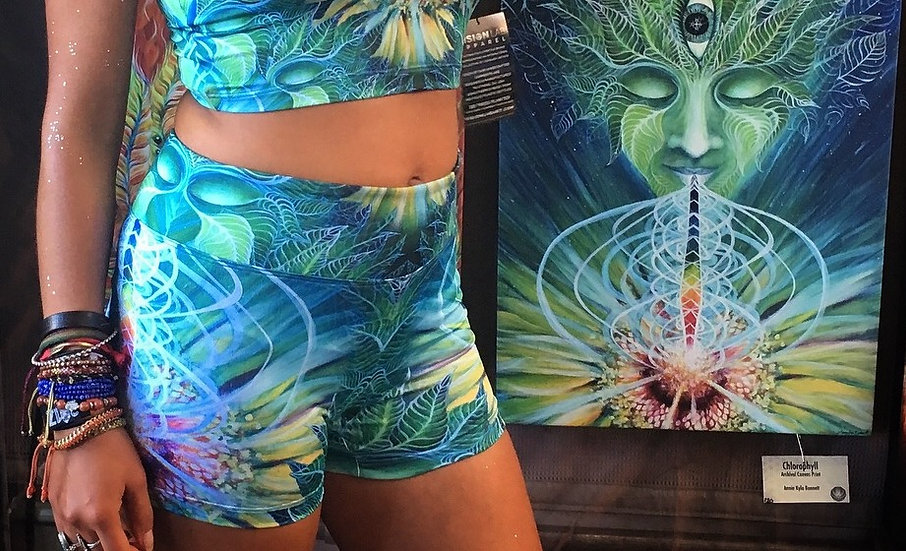 """Chlorophyll"" Hot Shorts by Annie Kyla Bee"