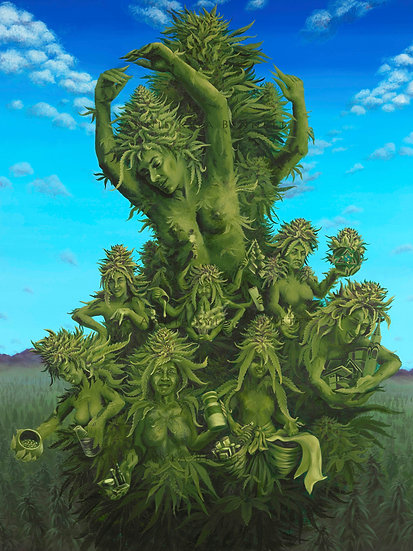 """""""The Mother Plant"""" by Annie Kyla Bee... Prints.."""