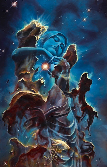 """""""Creation's Embrace"""" 16x24 Giclee Canvas Print by Jack Henry Art"""