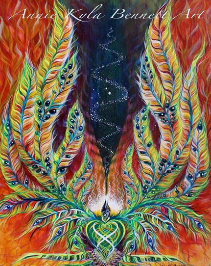 'Solstice Phoenix' by Annie Kyla Bennett