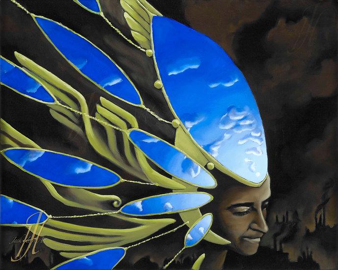 """""""FutureKeeper 001"""" by Jack Henry Art - Prints"""