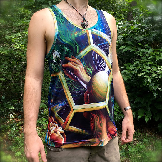 """The Painter"" Tank Top by Annie Kyla Bee"