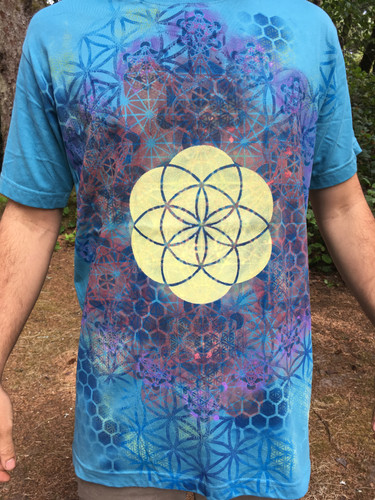 Sacred Geometry T-Shirts | Organic Tees | Flower of Life T-shirts