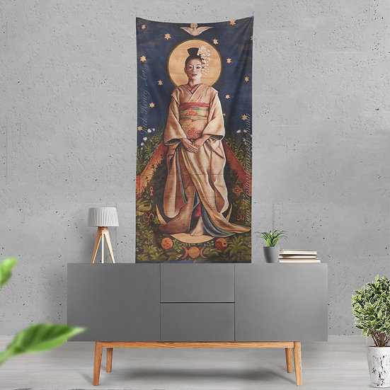 """Compassionate Mother"" Tapestry by Jack Henry Art"