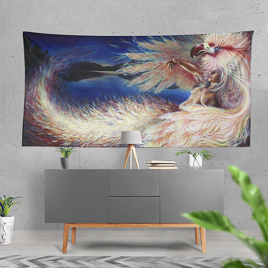 """PHI"" Tapestry by Annie Kyla Bee"