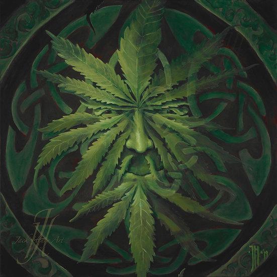 'Green Man' by Jack Henry - Prints