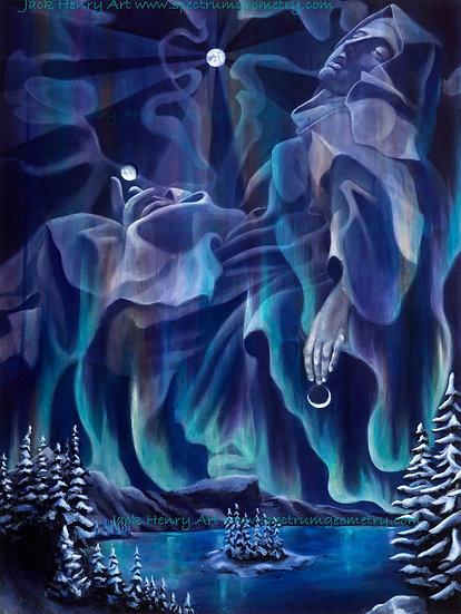"""Ecstasy of St Teresa"" 18x24 Giclee Canvas Print by Jack Henry Art"