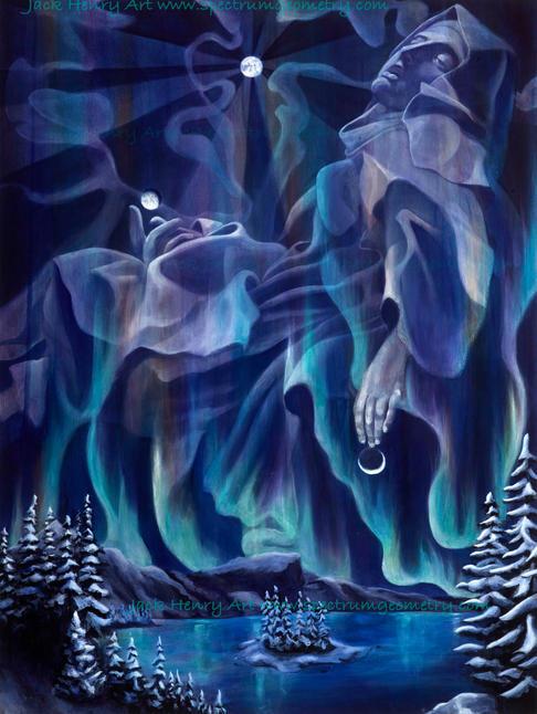 'Ecstasy of St Teresa' by Jack Henry Art