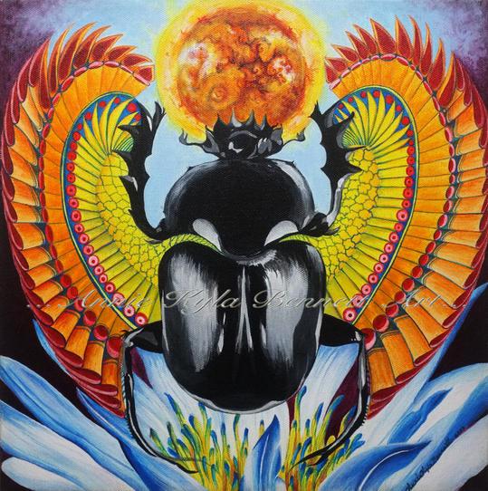 "'Re:Birth of the Sun Ra"" by Annie Kyla Bennett"