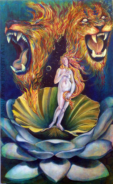 'Birth of Inspiration' by Annie Kyla Bennett