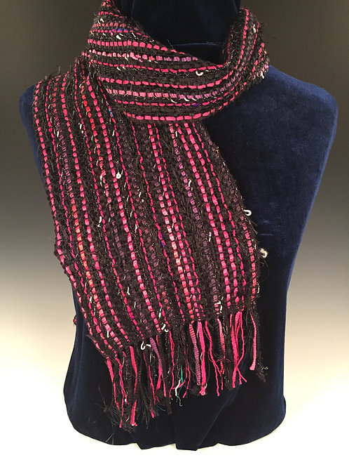 Licorice and Bubble Gum Scarf