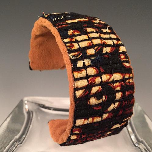 Cuff Bracelet Dark Batik