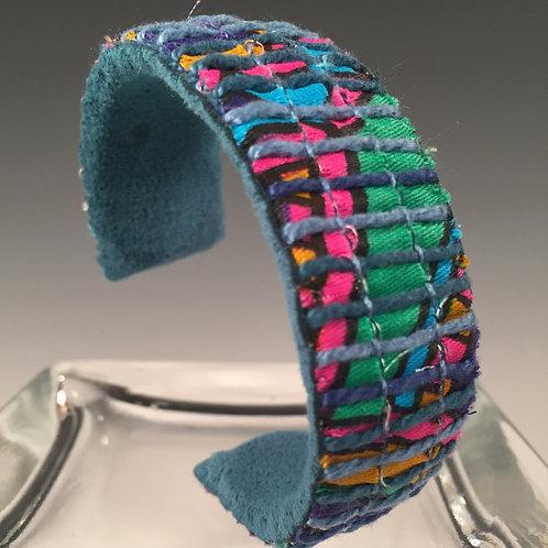 Narrow Cuff Bracelet  A Little Psychedelic