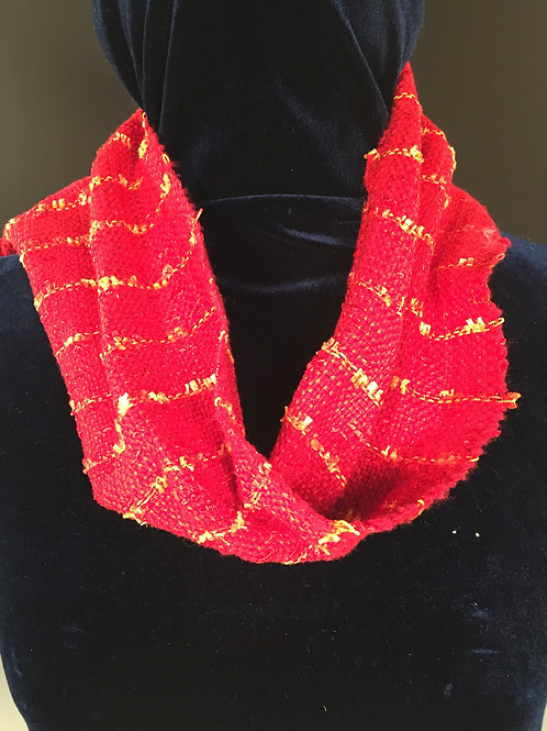 Mobius Scarf Fire Engine Red