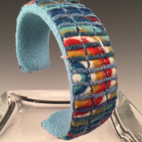 Narrow Cuff Bracelet Circles