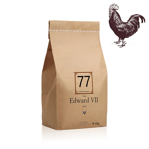 """77 """"mini Edward VII"""" karma dla psa"""