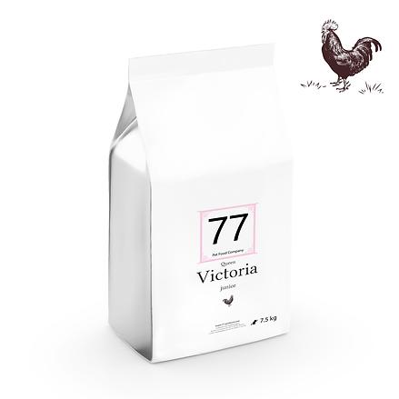 Junior Victoria z kurczakiem 7,5kg dla kota