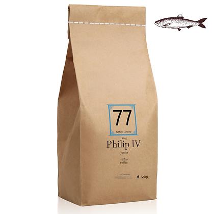 Junior Philip IV z łososiem 12kg