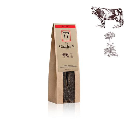 Charles V+ Stripes z suszonej wołowiny z czystkiem
