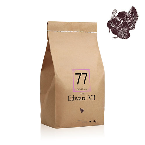 """77 """"Edward VII"""" karma dla psa"""