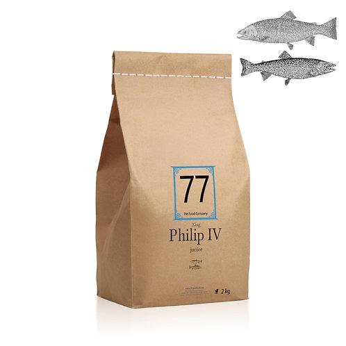 """77 """"Junior Philip IV"""" karma dla szczeniąt"""