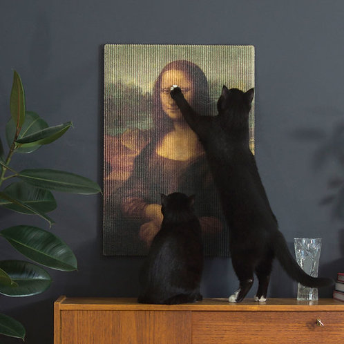 Drapak Artystyczny – Mona Lisa