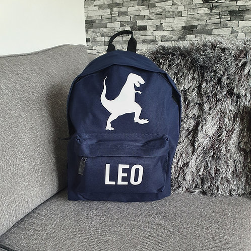 Personalised Dinosaur Bag
