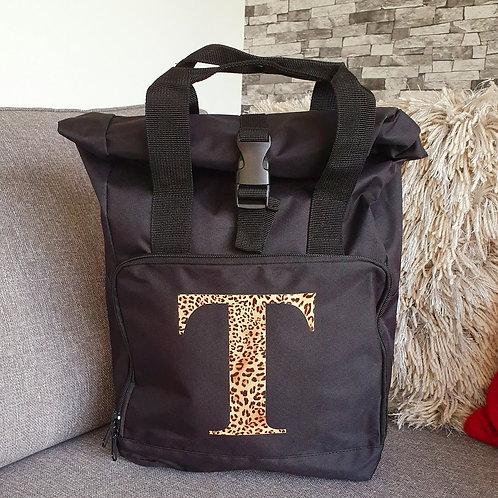 Initial Roll Top Bag